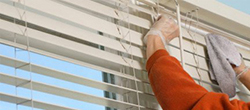 Window treatment repair service on Hunter Douglas, Levolor, Graber, Kirsch, and Kathy Ireland in Chehalis.