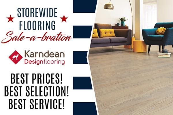 Kandean Luxury Vinyl Flooring Sale at Arvid's Interiors in Chehalis, WA